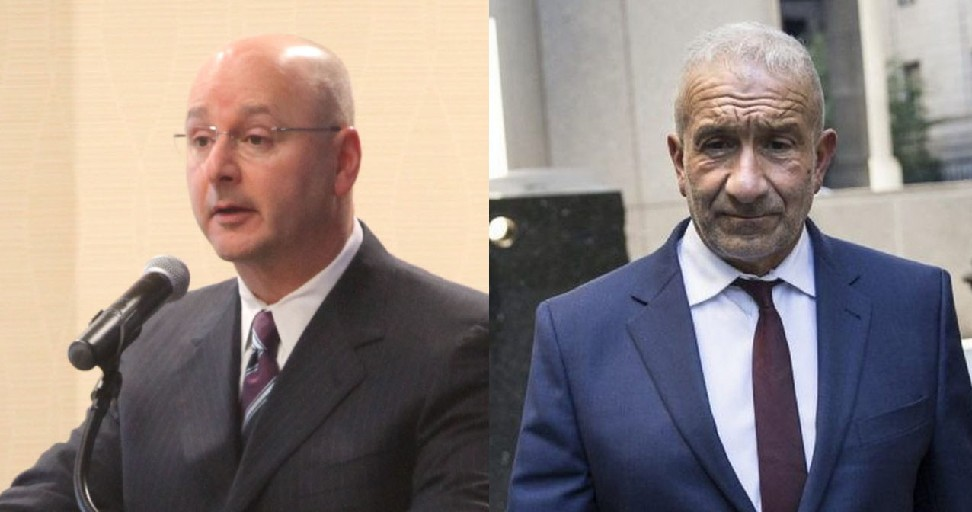 Louis Ciminelli, left, and Alain Kaloyeros were convicted last week in federal court on corruption charges related to the Buffalo Billion project. Highly placed elected officials have also been convicted in recent years. (Buffalo News file photo and New York Times file photo)