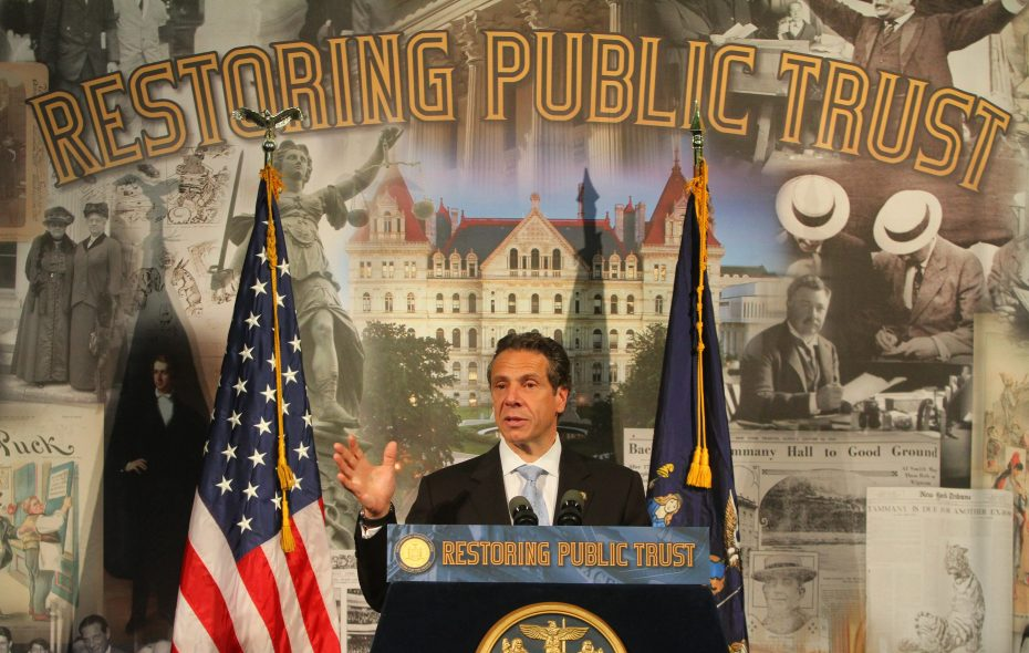 Gov. Andrew M. Cuomo has relied on the perks of his office to promote issues that align with his reelection campaign. (John Hickey/News file photo)