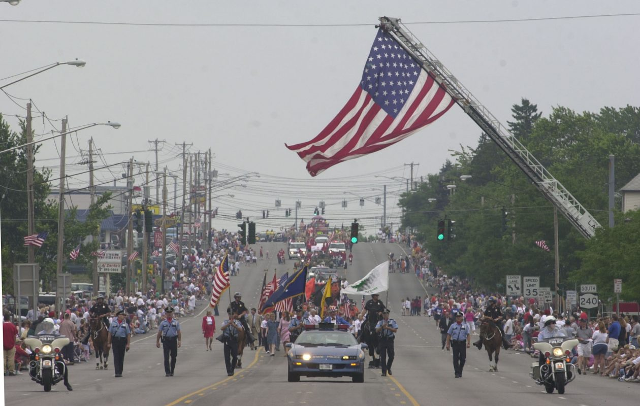 A file photo of the annual Independence Day parade kicking off in Cheektowaga. (News file photo)