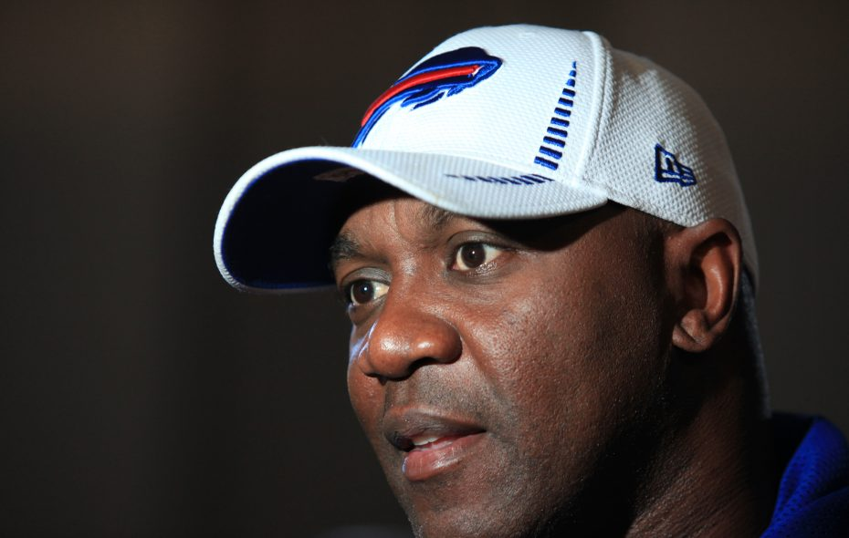 "Thurman Thomas: ""This was just a perfect thing for me to really up the ante on what I want to do, actually, for disadvantaged kids in Erie County."" (Harry Scull Jr./News file photo)"