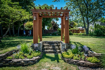 See the lush, landscaped sights featured in the Town of Amherst Garden Walk on July 7.
