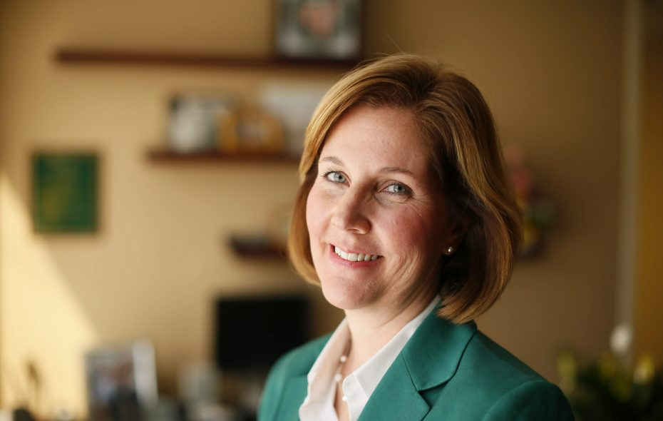 Lockport Mayor Anne McCaffrey announced she will resign to become president and CEO of Eastern Niagara Hospital. (Derek Gee/Buffalo News file photo)