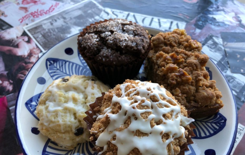 Gluten free baked goods that taste like the real deal are drawing customers to Two Wheels Bakery and Cafe. (Elizabeth Carey/Special to The News.)