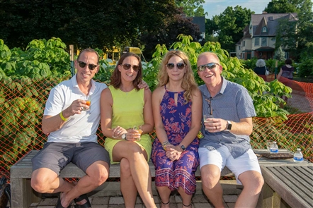 Local breweries poured samples of 20 beers and ciders for this annual event at Martin House Plaza on July 13.
