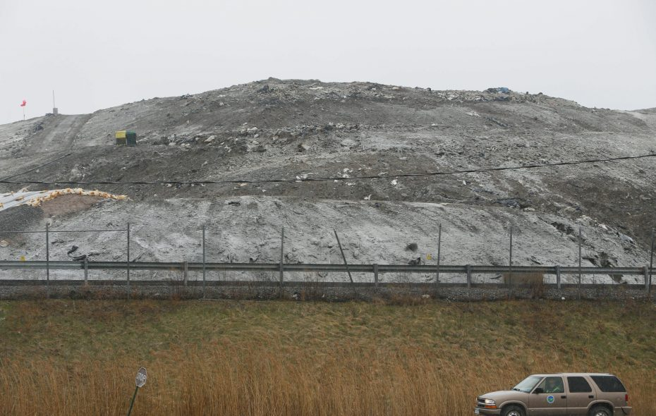 CWM Chemical Services is seeking to add a new hazardous waste landfill at its Balmer Road facility. Niagara County Legislature candidate Irene M. Myers said she opposes the project.(Derek Gee/News file photo)