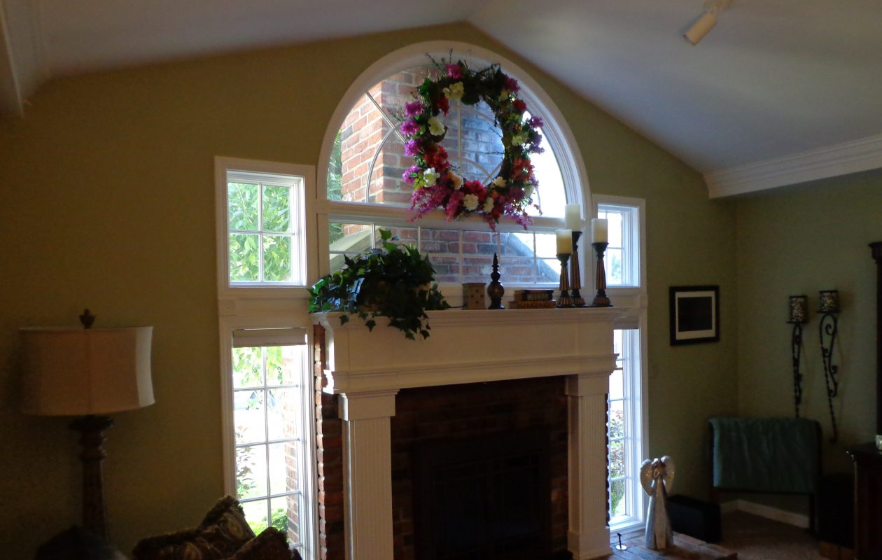 The great room in our latest Home of the Week – a colonial in Hamburg. (Photo courtesy Kathy Northway)