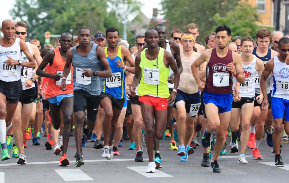The 2018 Subaru 4 Mile Chase brought an impressive elite field to Buffalo. (Harry Scull Jr./News file photo)