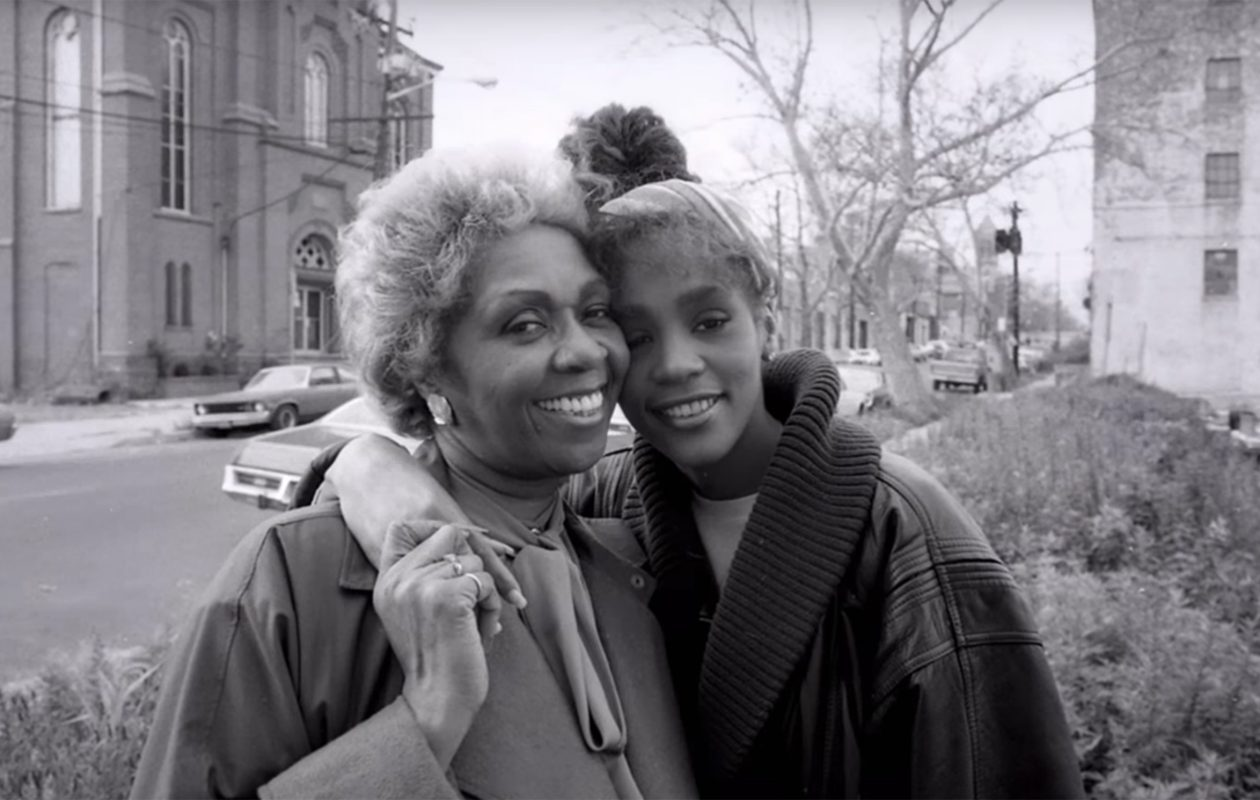 A young Whitney Houston is pictured from the new documentary 'Whitney.'