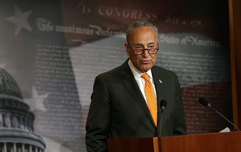 Senate Minority Leader Charles E. Schumer. (Getty Images)