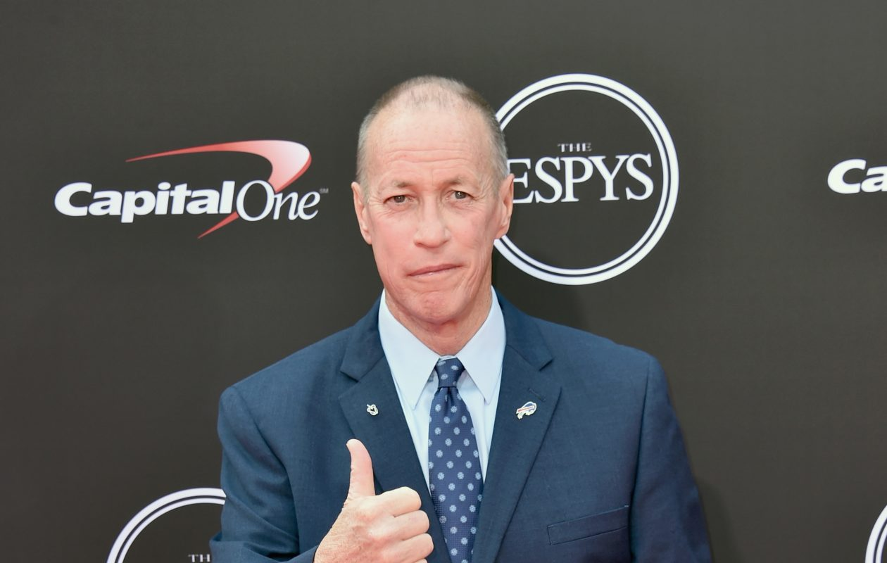 Jim Kelly attends the 2018 ESPYs at on July 18, 2018, in Los Angeles. (Getty Images)