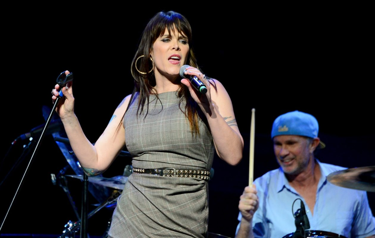 Beth Hart, pictured performing in Los Angeles in 2014, will miss her scheduled Buffalo appearance. (Frazer Harrison/Getty Images)