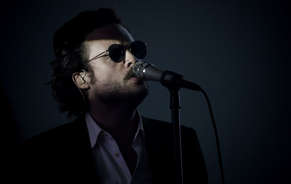 Father John Misty, pictured at Coachella, is perhaps the biggest name on the Canalside Live! lineup. (Katie Stratton/Getty Images)