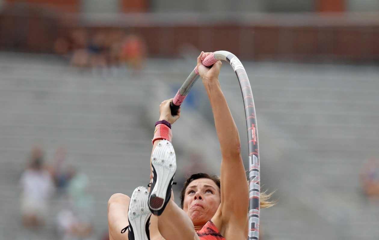 Fredonia native Jenn Suhr is finding success after taking time away. (Getty Images)