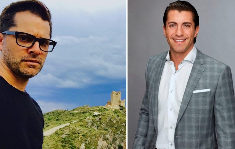 """City Honors graduate and """"The Bachelorette"""" producer Bennett Graebner, left, praises Jason Tartick for how he carried himself on the show. (via Graebner/via ABC)"""
