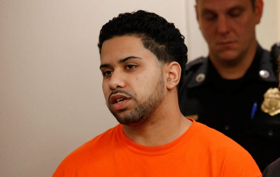 """Gregory Ramos was sentenced to 20 years to life in prison for his role as the """"getaway driver"""" in a fatal 2016 shooting at the Anchor Bar. (Derek Gee/Buffalo News)"""