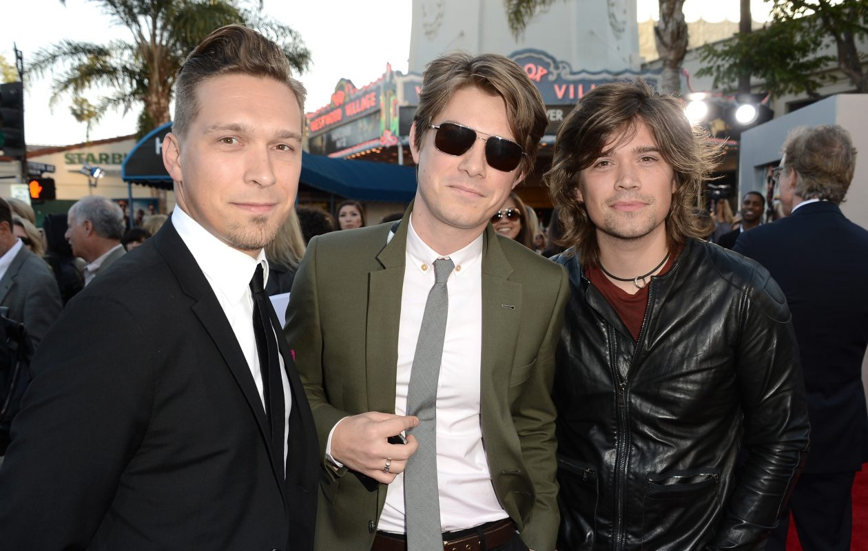 The brothers Hanson -  Isaac Hanson, Taylor Hanson and Zac Hanson - will perform orchestral arrangements of their songs with the Buffalo Philharmonic Orchestra. (Getty Images)