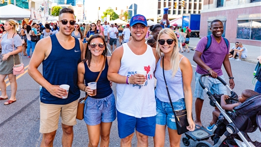 Taste of Buffalo, the city's largest food festival, welcomed nearly 500,000 people over a two-day span to Niagara Square and Delaware Avenue. Here's the scene on Sunday, July 8, 2018.