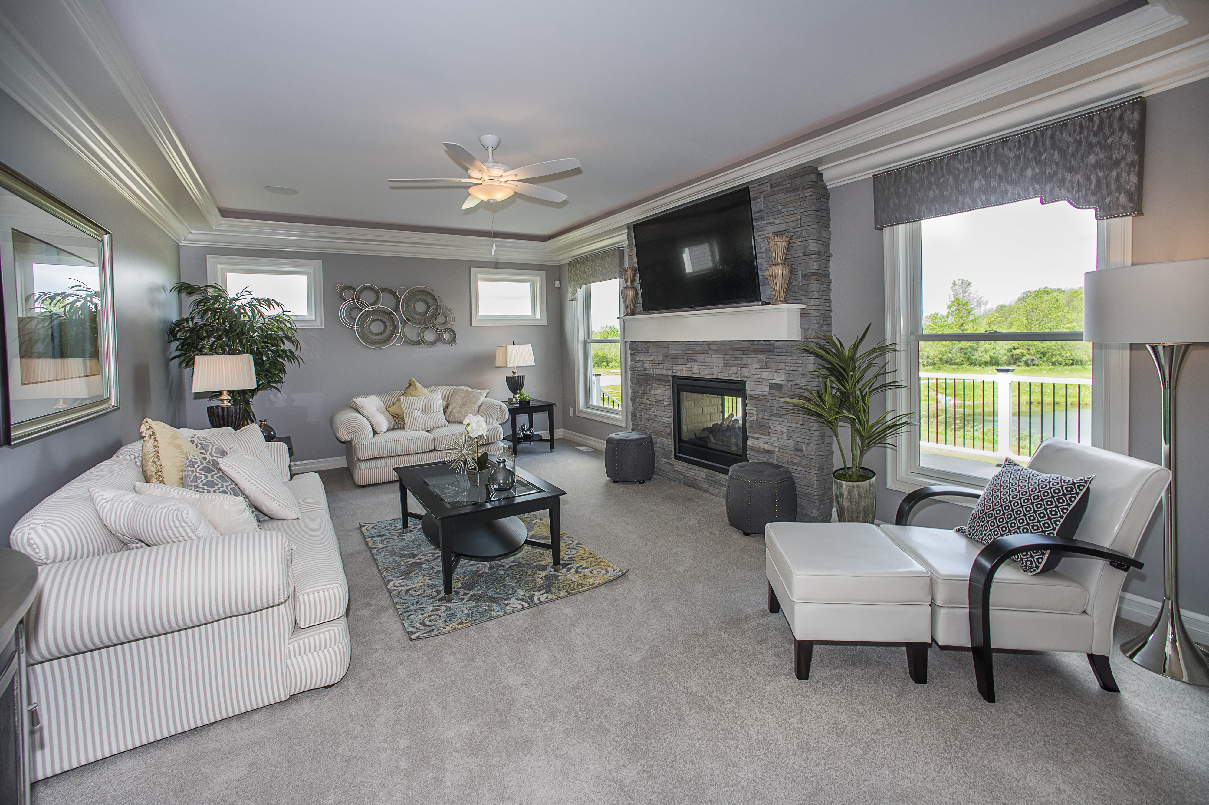 Essex Homes Will Show Two Homes. This One Is At 53 Knoche Way In Orchard  Park.