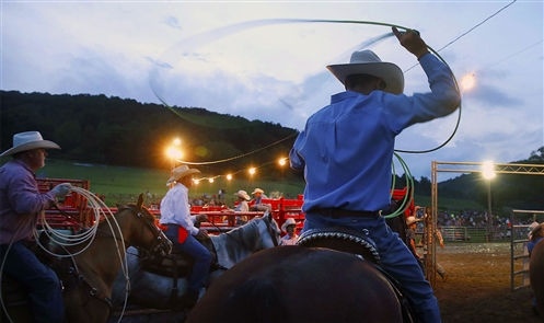 Images from the Ellicottville Rodeo on July 5. The event runs through Sunday, July 8.