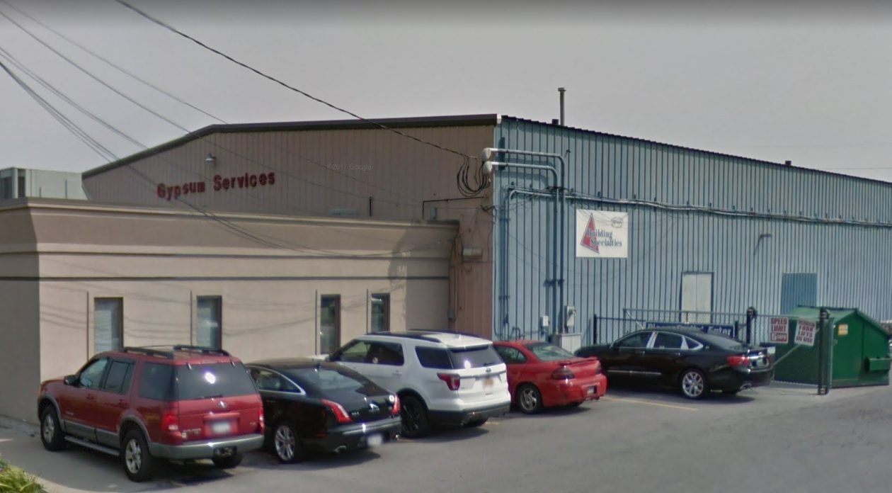 Column Development is seeking ECIDA tax breaks to support construction of a new warehouse for L&W Supply Corp., which would relocate to Dick Road from this facility on Duke Road.