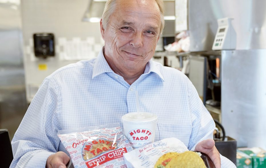 Mighty Taco CEO Russell Jasulevich shares his go-to order, favorite ad, and more. (Dave Jarosz)