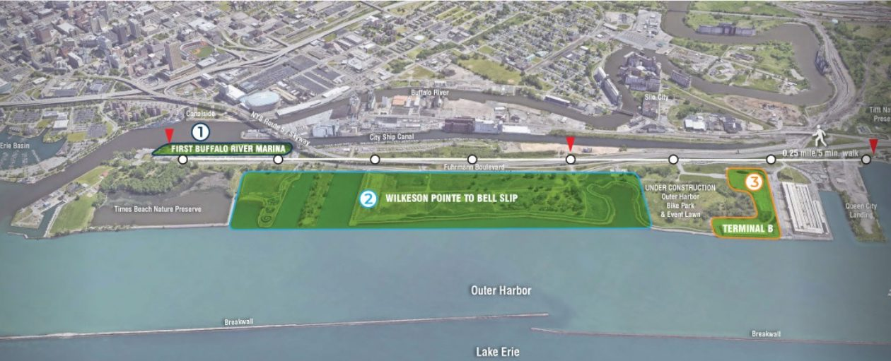 The Erie Canal Harbor Development Corp. is looking for citizen input on activities at the Outer Harbor.
