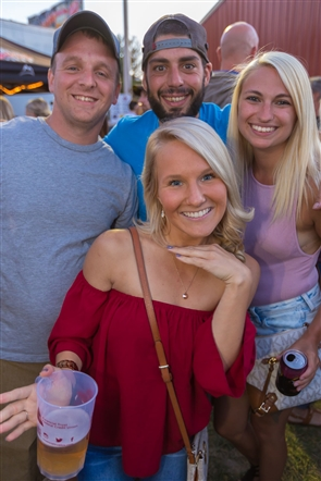 One of the summer's best beer tents rolled again at the Queen of Heaven Carnival, which runs through Sunday night in West Seneca. See the smiling faces enjoying the carnival atmosphere and live music by Hit N Run.