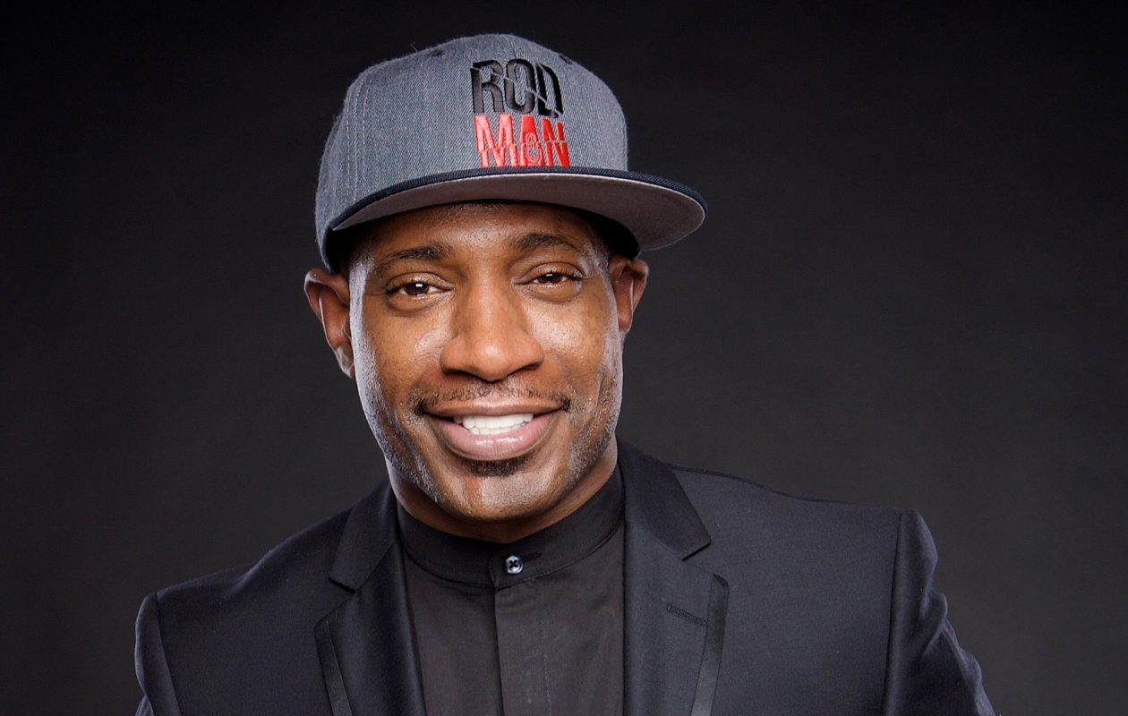 Comedian Rod Man will perform four shows at Helium Comedy Club.