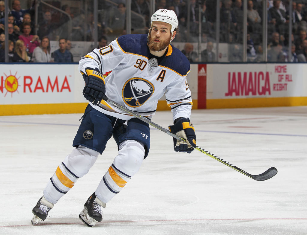 Ryan O'Reilly regretted not making the playoffs during his three years in Buffalo. (Getty Images)