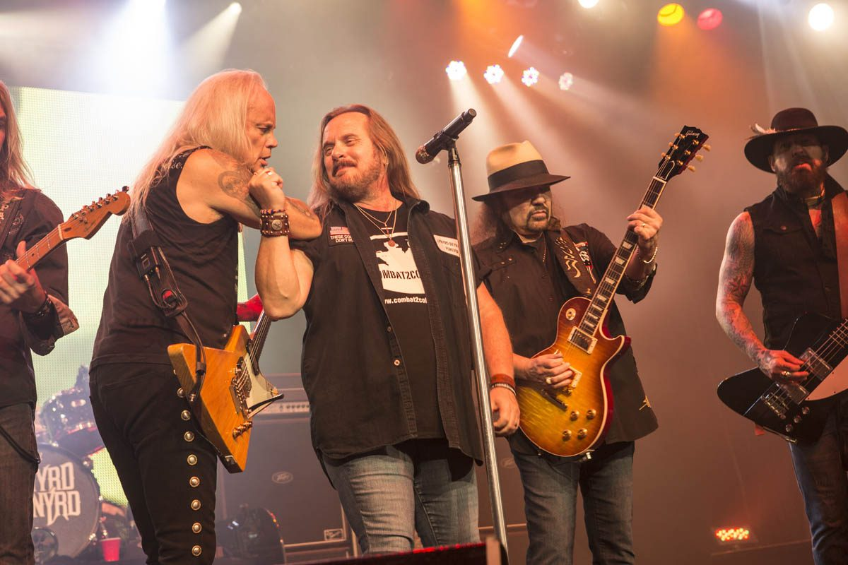 The Johnny Van Sant-led Lynyrd Skynyrd will perform at Darien Lake on July 13. (Photo courtesy of Lynyrd Skynyrd)