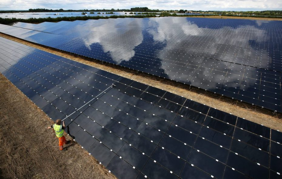 Cypress Creek Renewables, a California company, is proposing 900 acres of ground-based solar power panels in Cambria and Pendleton. (File photo)