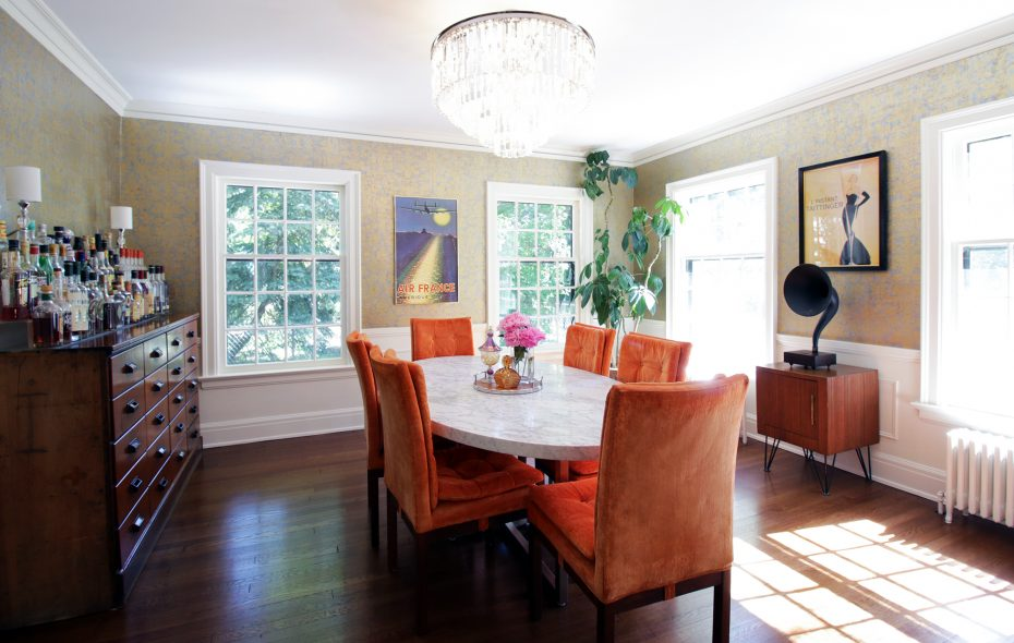 Almost all the walls in the DeJacs' 93-year-old home needed replacing or restoring when they bought it in 2017; they chose to restore. (Dave Jarosz)