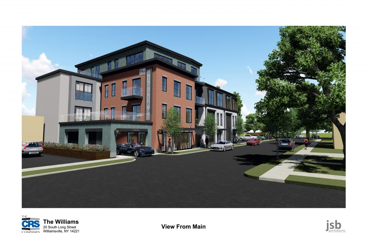 Work starting on $4 million apartment complex on prime Williamsville ...
