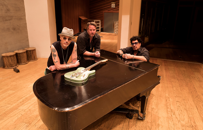 Actor Billy Bob Thornton and his Boxmasters will play Buffalo Iron Works on July 31. (Photo courtesy of the Boxmasters)