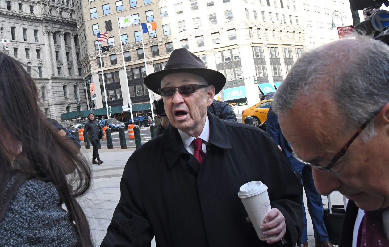 Former speaker of the New York State Assembly, Sheldon Silver  was sentenced Friday to seven years in prison Friday for his conviction on federal corruption charges. (Louis Lanzano/Sipa USA/TNS)