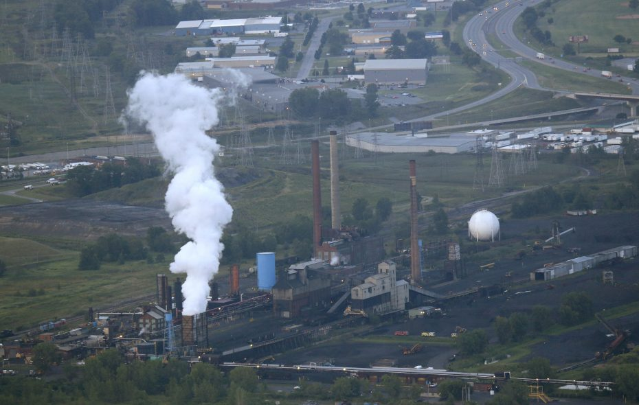 A state agency has issued a cease-and-desist order for Tonawanda Coke. (Derek Gee/Buffalo News)