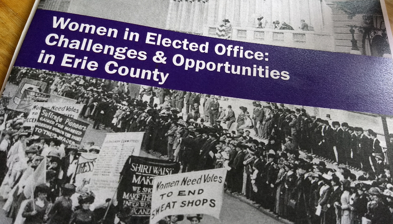 A report on women in elected office in Erie County shows that while women have made progress in gaining elected office, much more work needs to be done. (Sandra Tan/Buffalo News)