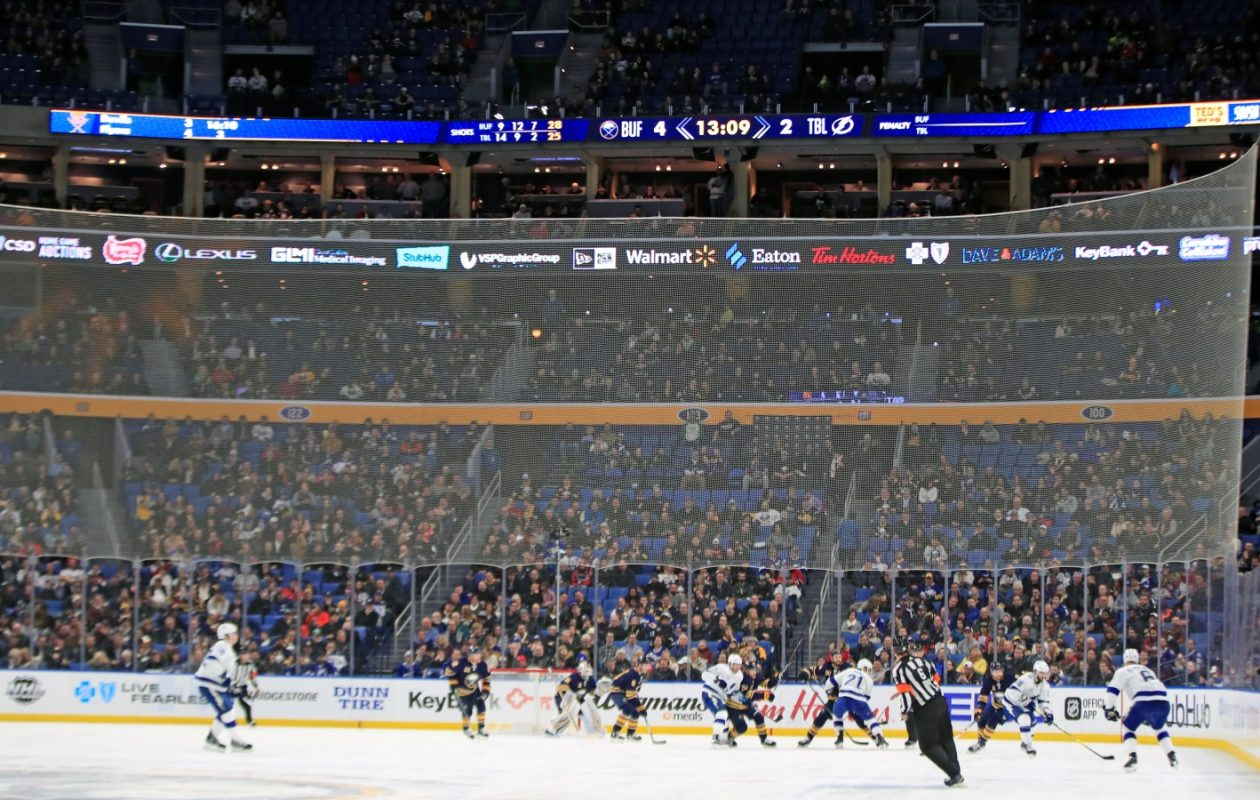The Sabres are overhauling their in-game presentation at KeyBank Center. (Harry Scull Jr./News file photo)
