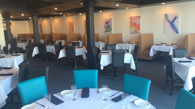 Novel Restaurant is the new name for the former Amaretto Bistro, now expanded. (Richard Semonian)