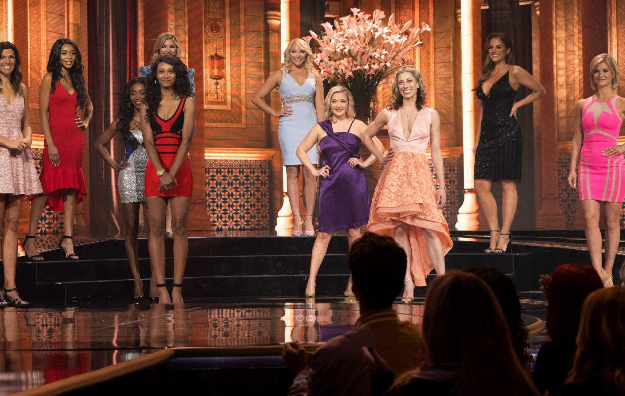 Abby Sullivan, far right, was the winner of 'The Proposal.' (Photo courtesy of ABC/Byron Cohen)