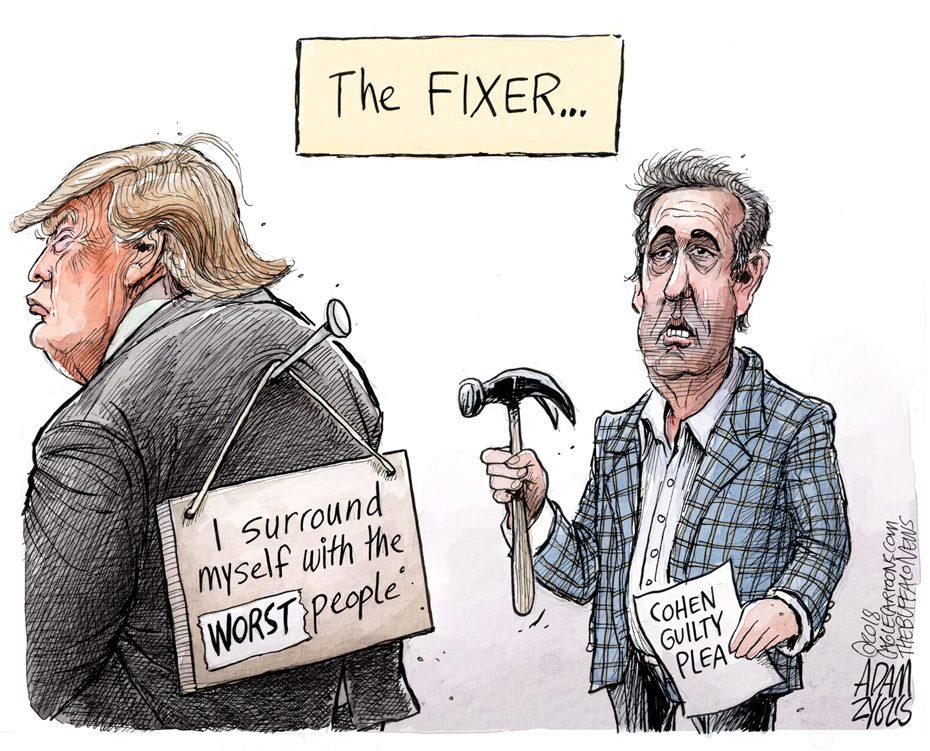 Cohen guilty: August 22, 2018