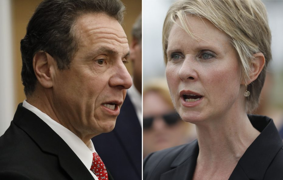Gov. Andrew M. Cuomo and Cynthia Nixon faced off in a primary Sept. 13. (News file photos)