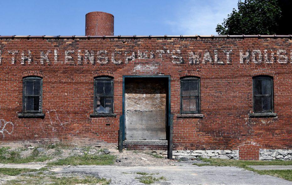 193 Pratt St., where the remains of the Kleinschmidt Malt House can be found. (Robert Kirkham/Buffalo News)