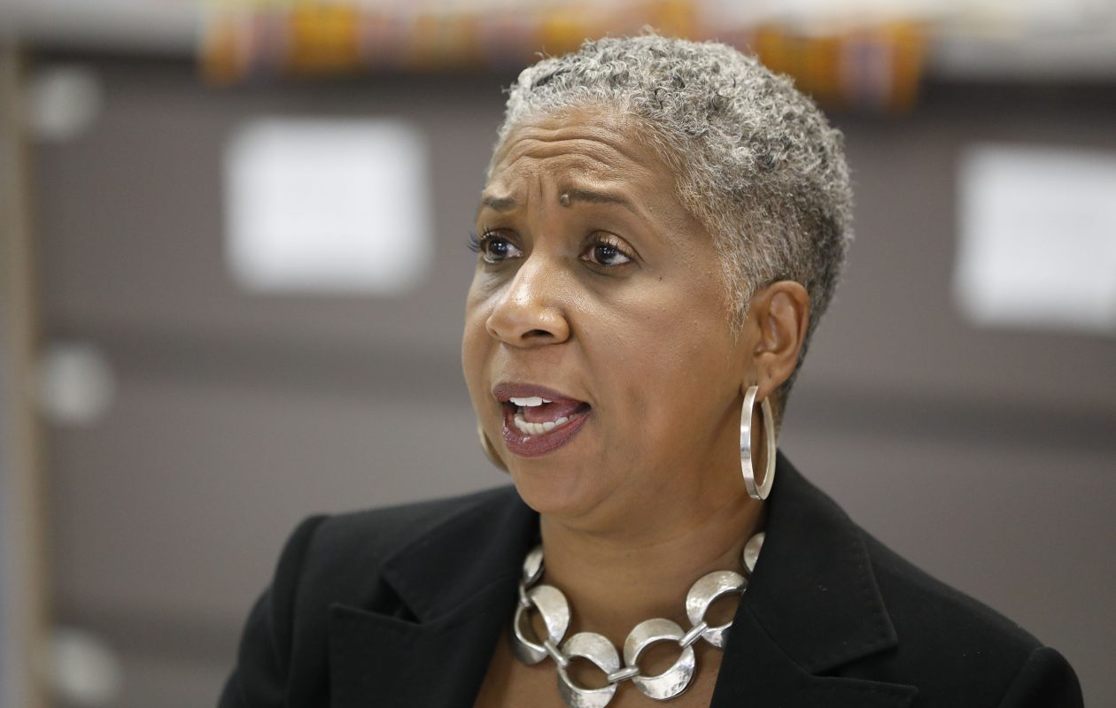 Former Elmwood Franklin kindergarten teacher Shellonnee B. Chinn wants data from two of Buffalo's top high schools released in a bid to show she was a good teacher, but the district objects and a judge is now giving the matter more thought. (Derek Gee/News file photo)