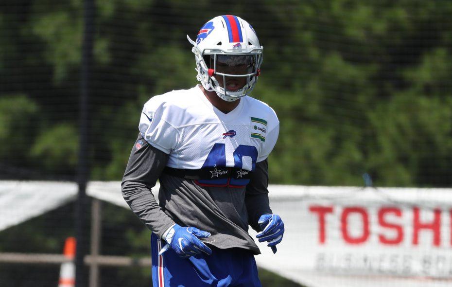 Buffalo Bills linebacker Keenan Robinson has decided to retire. (James P. McCoy/Buffalo News)