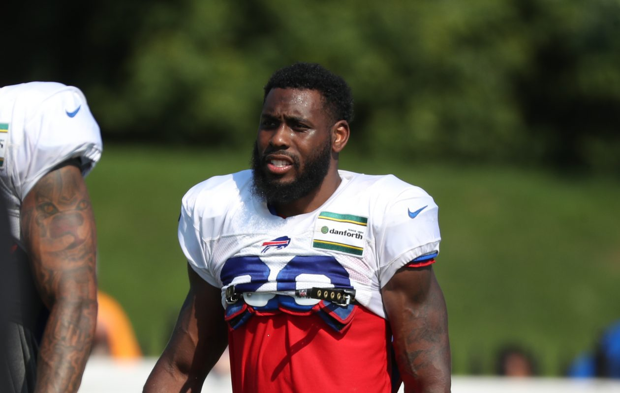 Rafael Bush should provide the Bills with quality depth at safety in 2018. (James P. McCoy/Buffalo News)