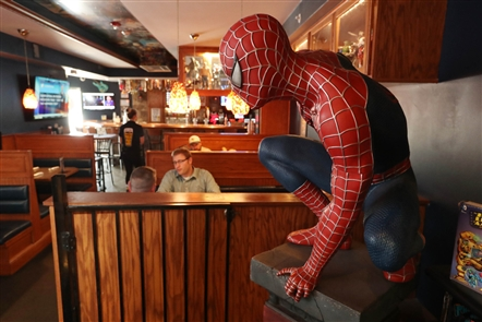 Say Cheese Pizza, Comic Book Cafe: Cheap Eats