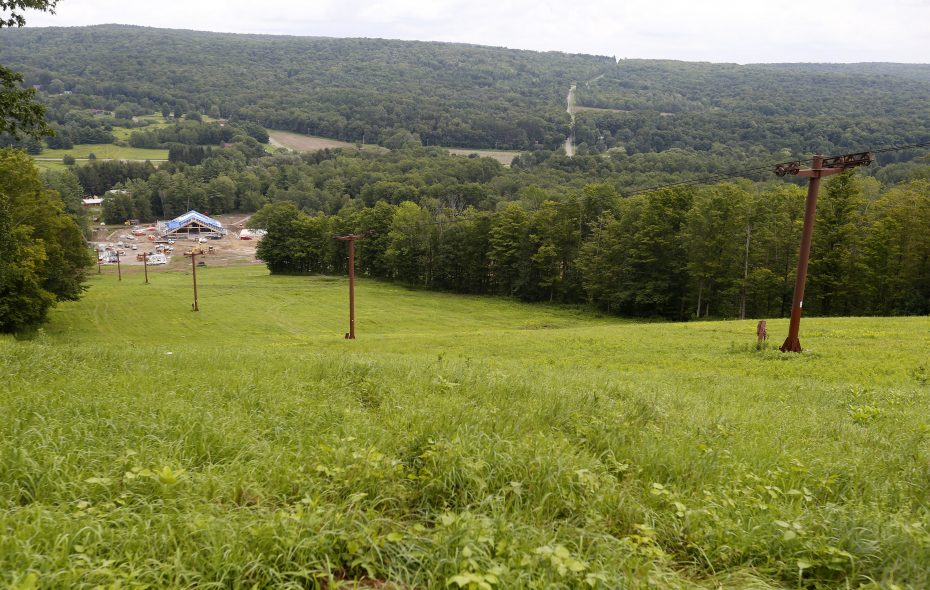 Cockaigne, shown in August, won't open for the 2018-19 ski season. (Mark Mulville/Buffalo News)
