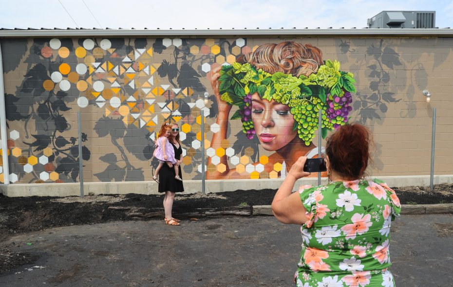 It Takes Village To Paint Mural Sharon >> Social Media In Uproar Over Fence That Will Block View Of New