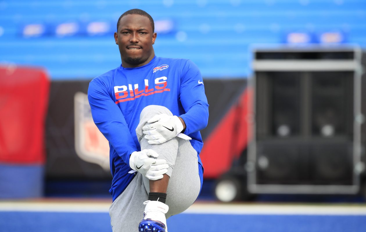 Bills running back LeSean McCoy. (Harry Scull Jr./Buffalo News)